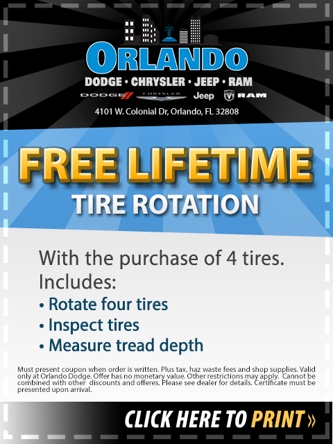 Service Specials Orlando Dodge Chrysler Jeep Ram - Orlando chrysler jeep